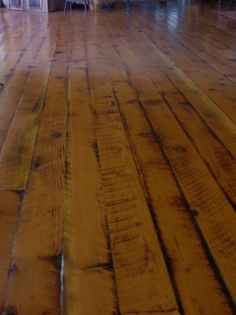 Rough Cut Lumber ~ Douglas fir flooring